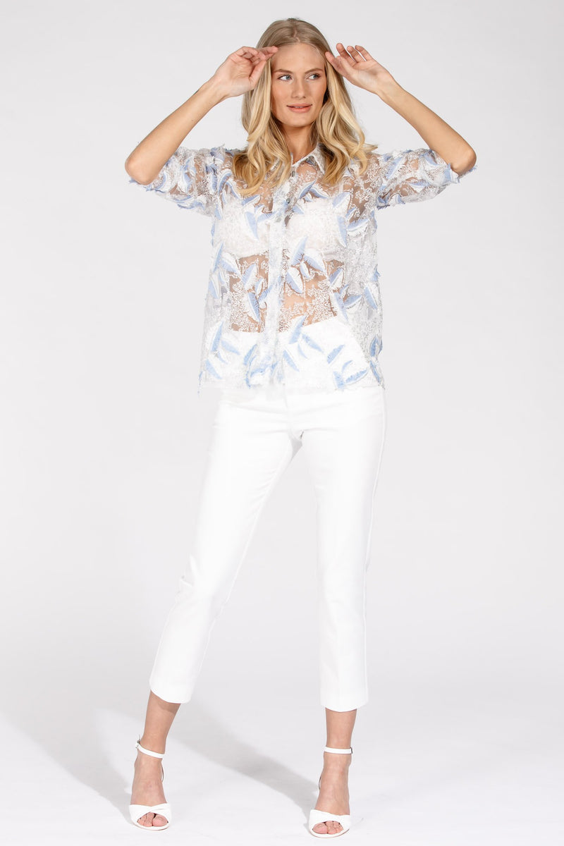 Sky blouse - Light blue