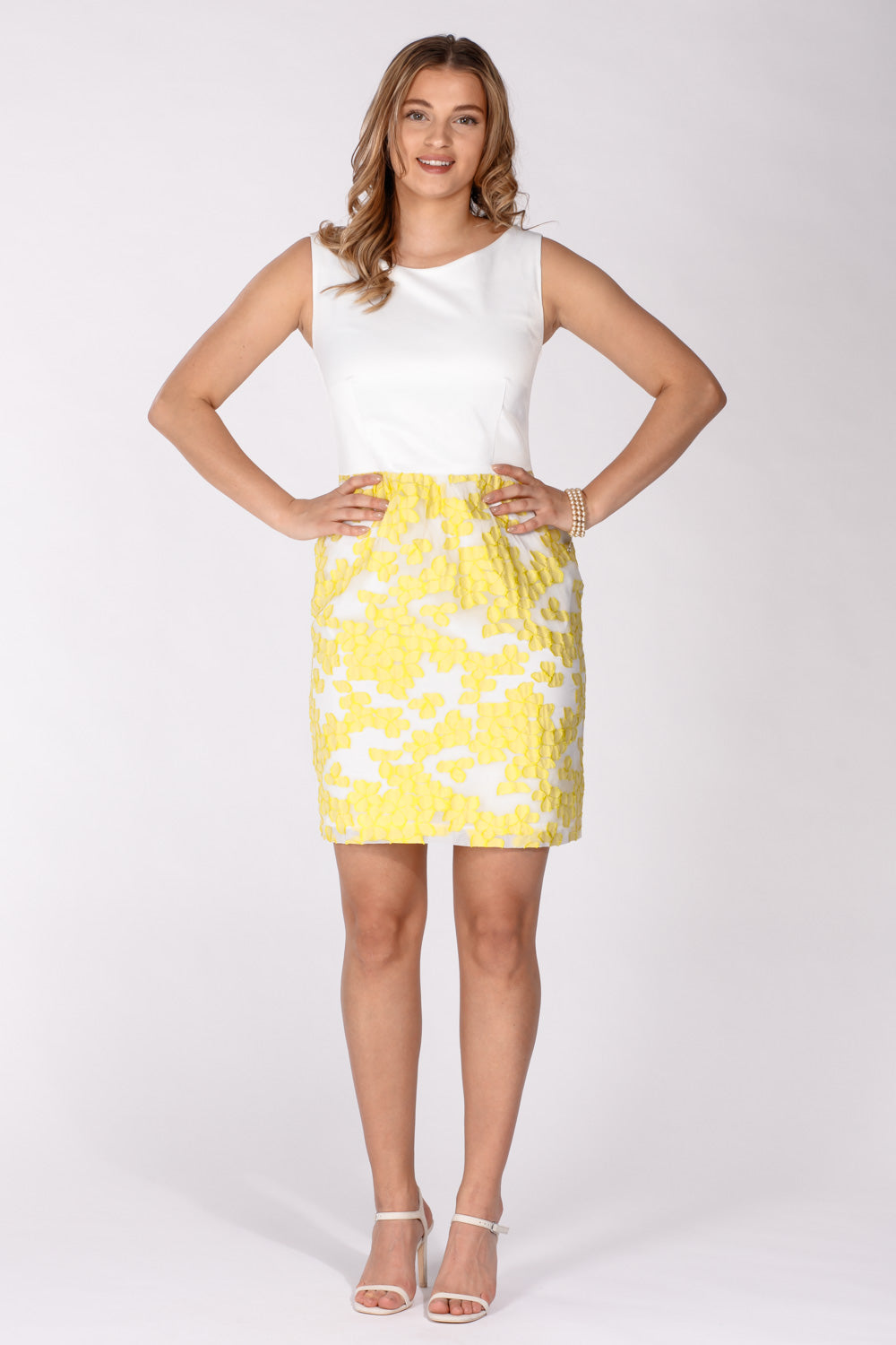 Sweet sunny dress - Yellow