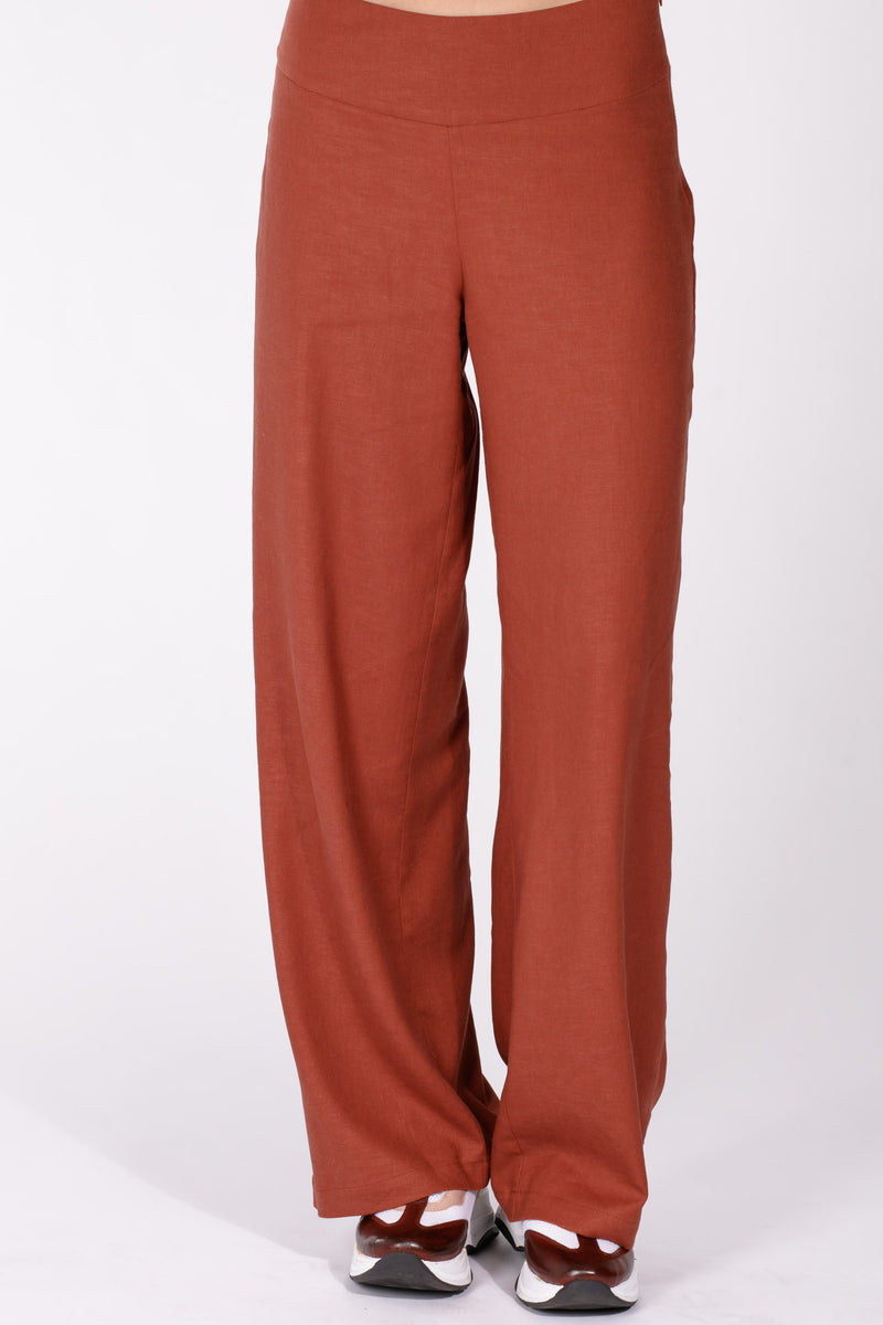 Marbella pants - Rust