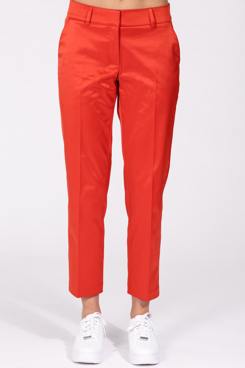 Selena suit ankle pants - Red