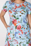 Thea dress - Summer blue