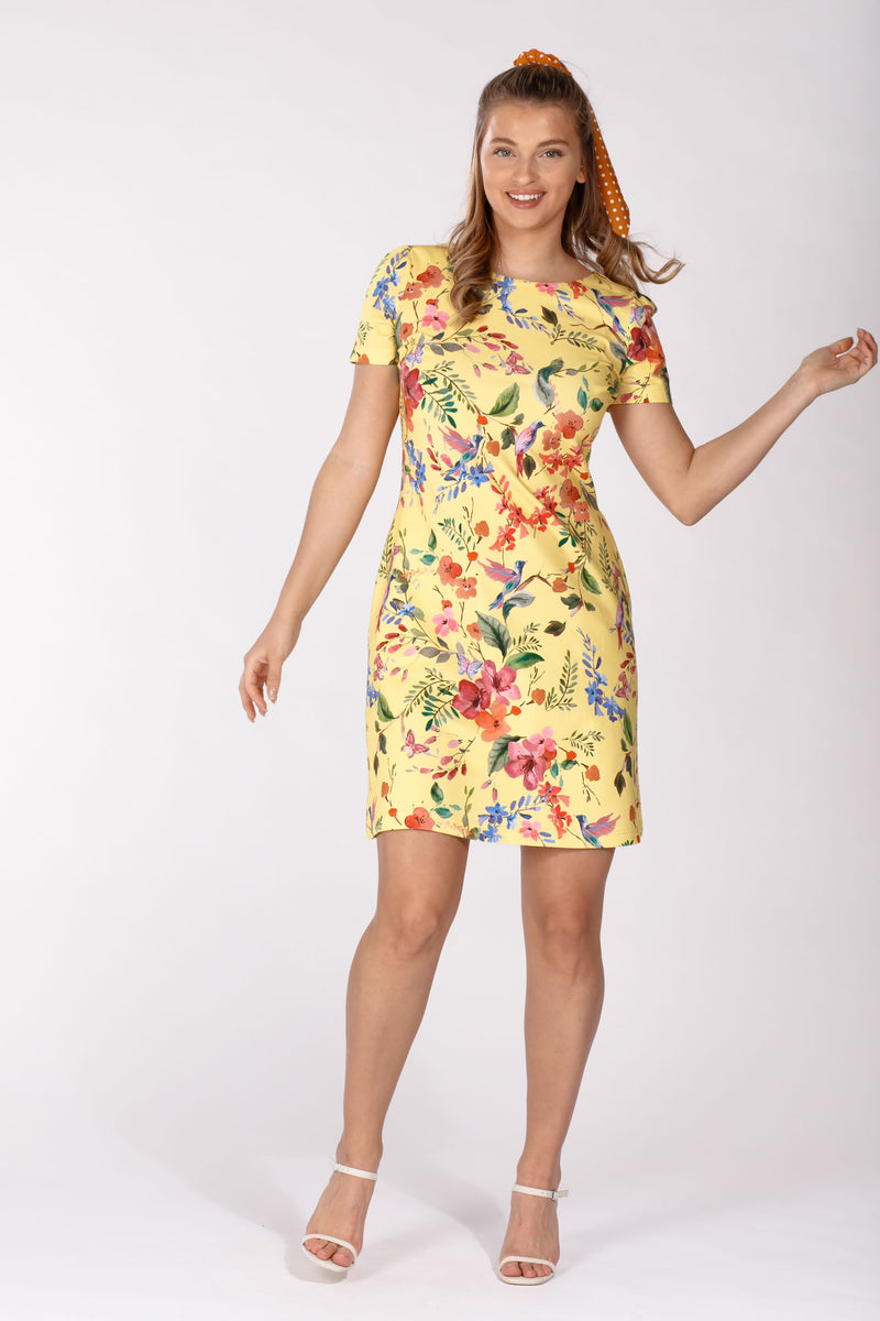 Thea dress - Yellow