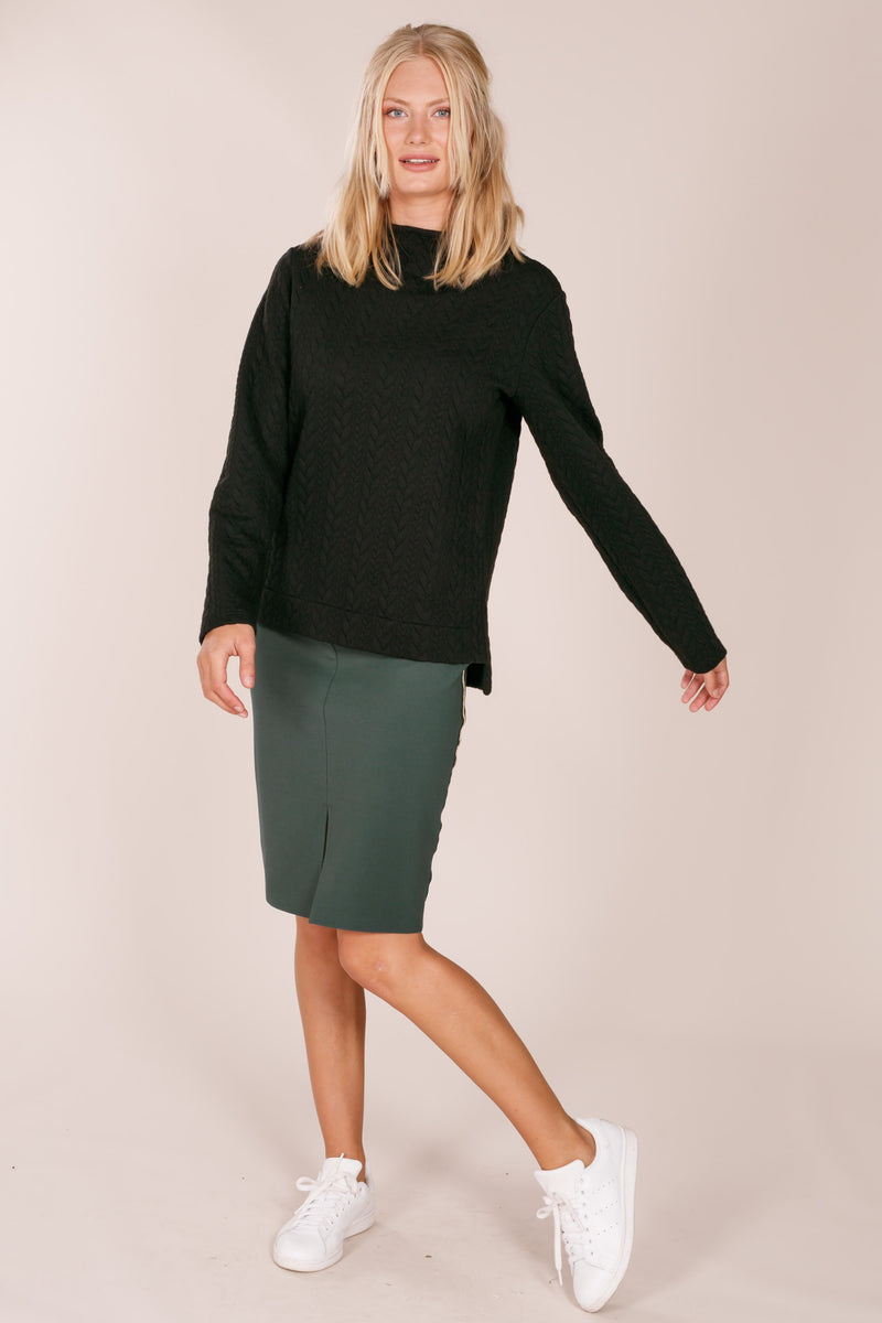 Montae slit skirt - Green