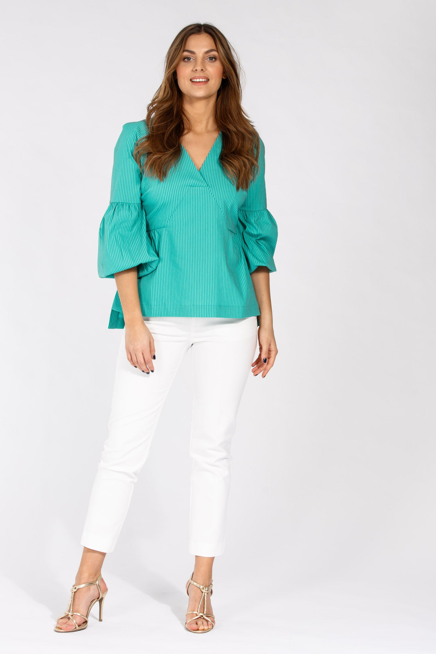 Centro blouse - Turquoise
