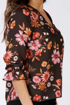 Cosmea fall blouse - Rust
