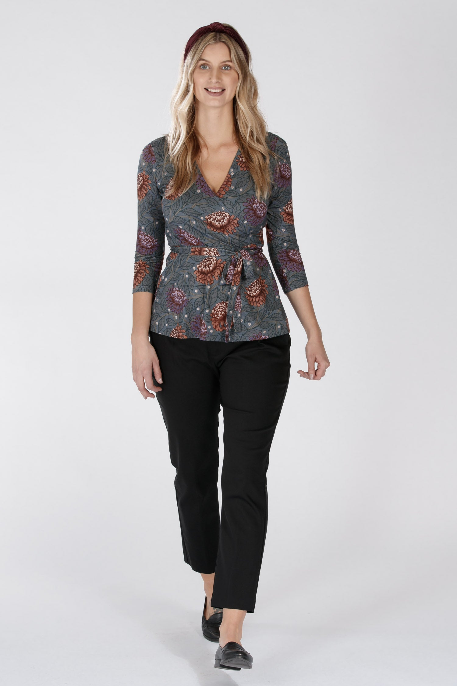 Aster top - Blue