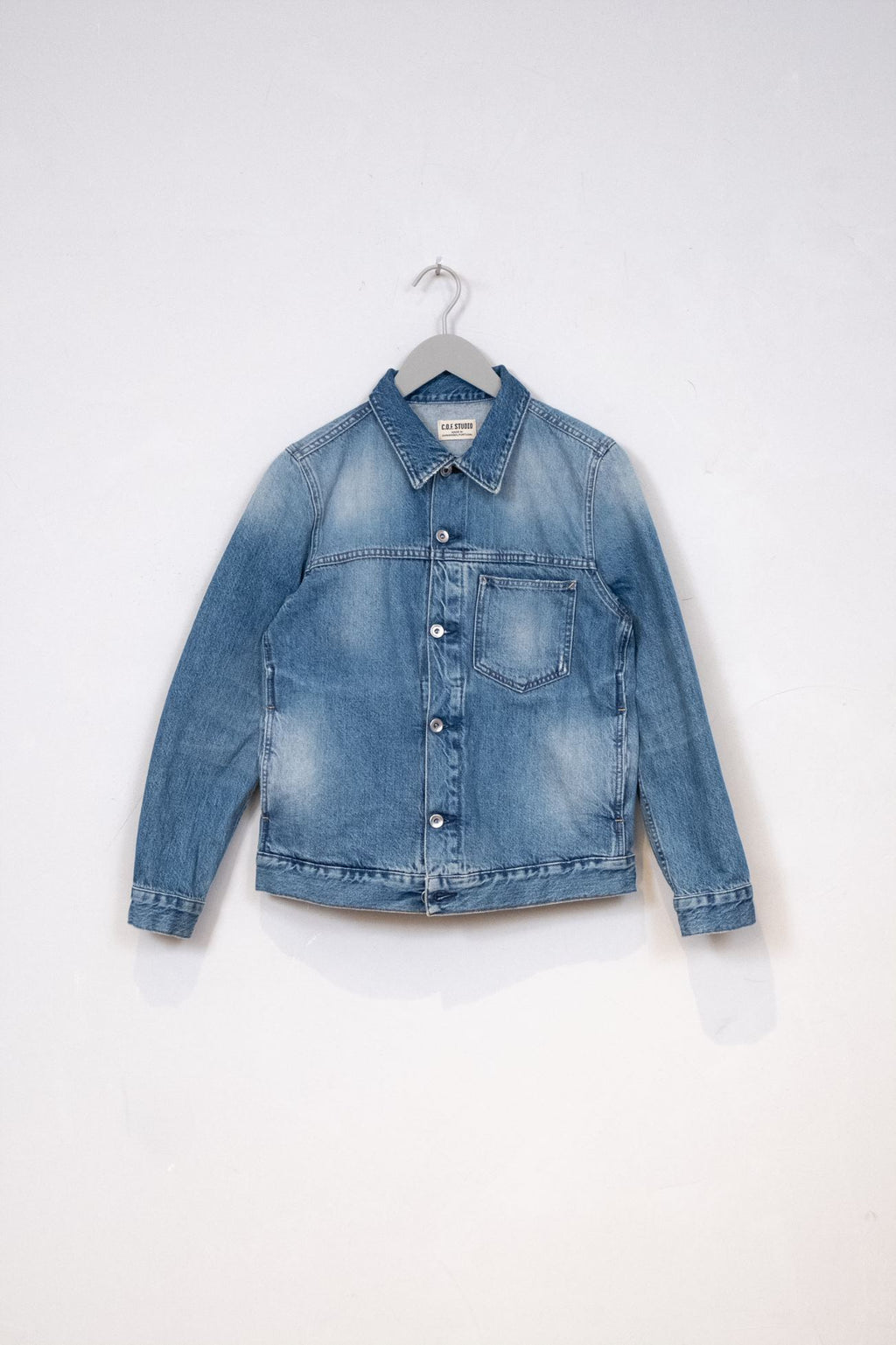 Denim Jacket Indigo Selvedge - Heavy Wash
