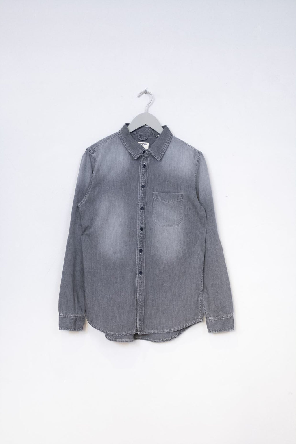 Denim Shirt - Black 24 Months