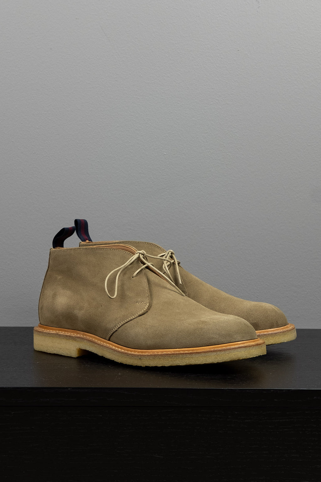 Bertie Chukka Boot - Dirty Buck Suede