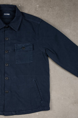 Mechanic Shirt Dobby - Navy