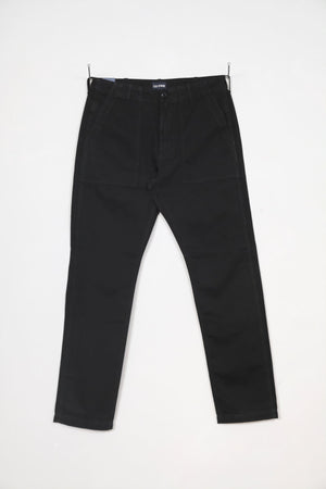 Fatigue Pant Herringbone - Black