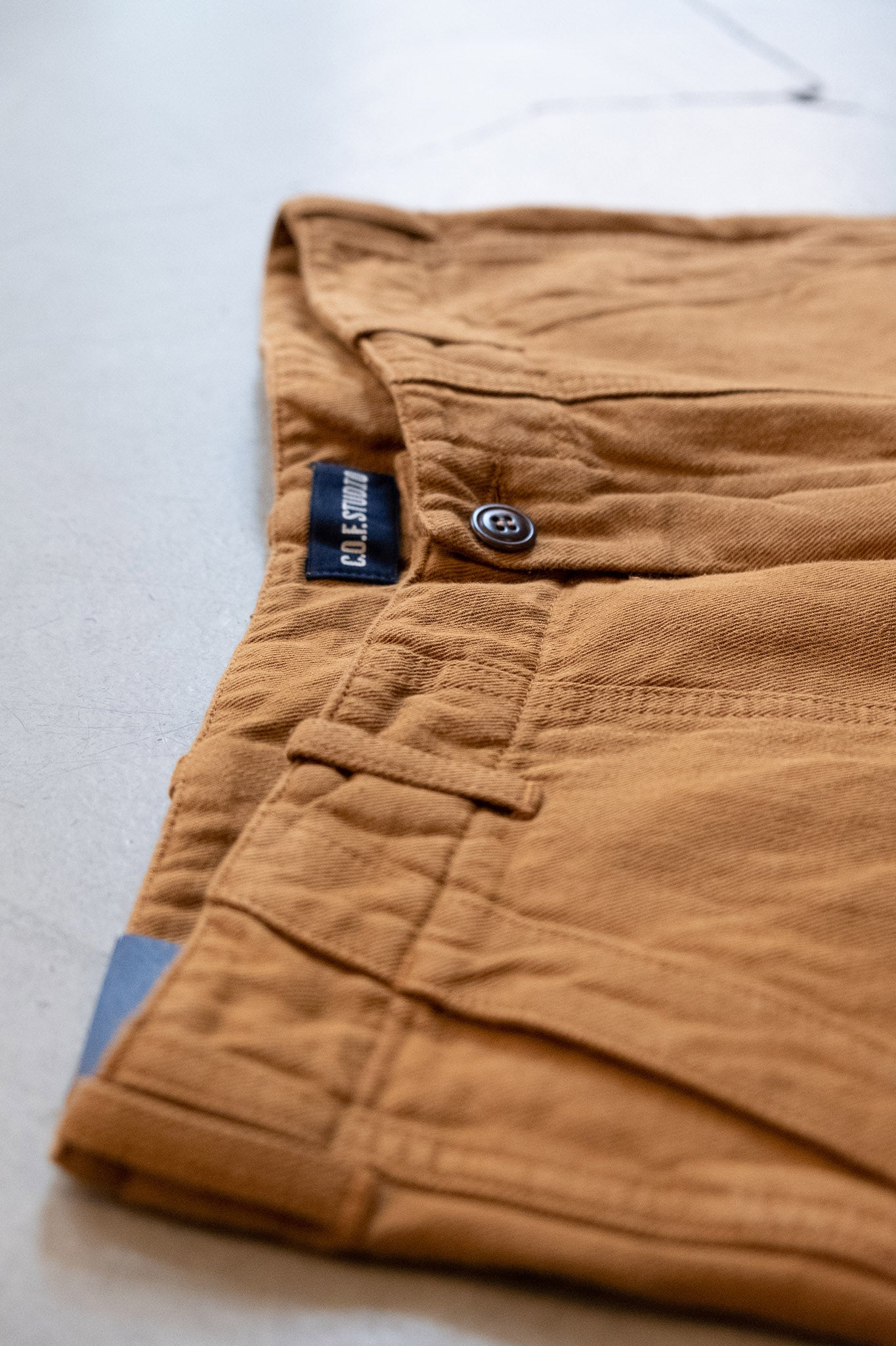 Fatigue Pant Cotton Linen Twill - Duck