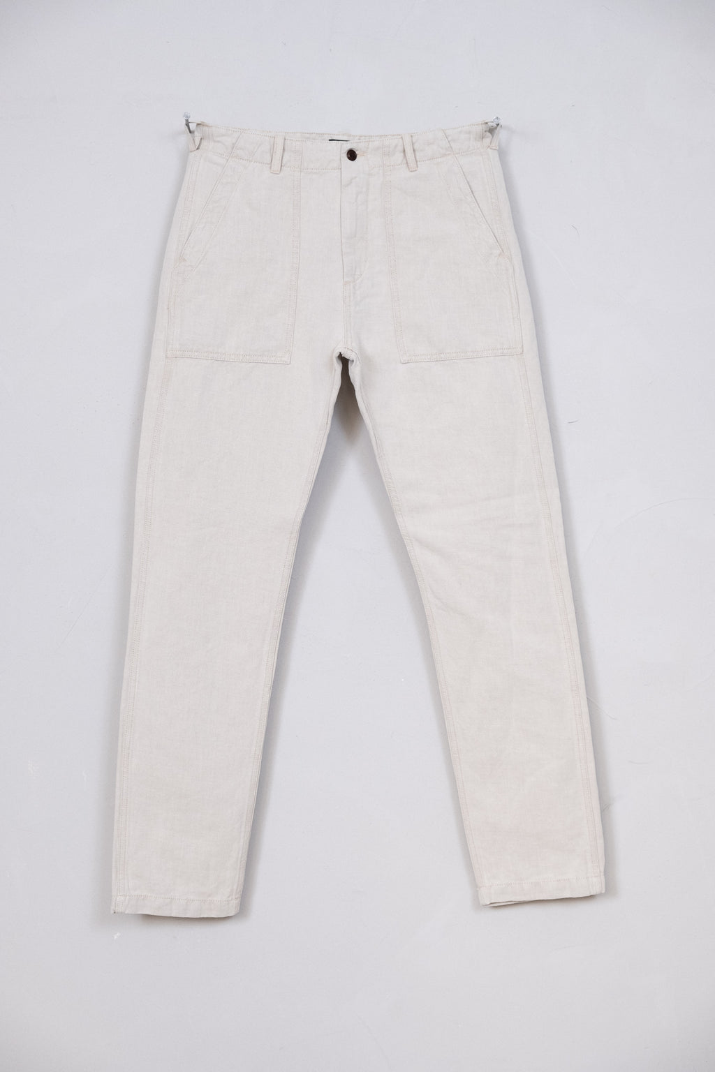 Fatigue Pant Cotton Linen Twill - Nature
