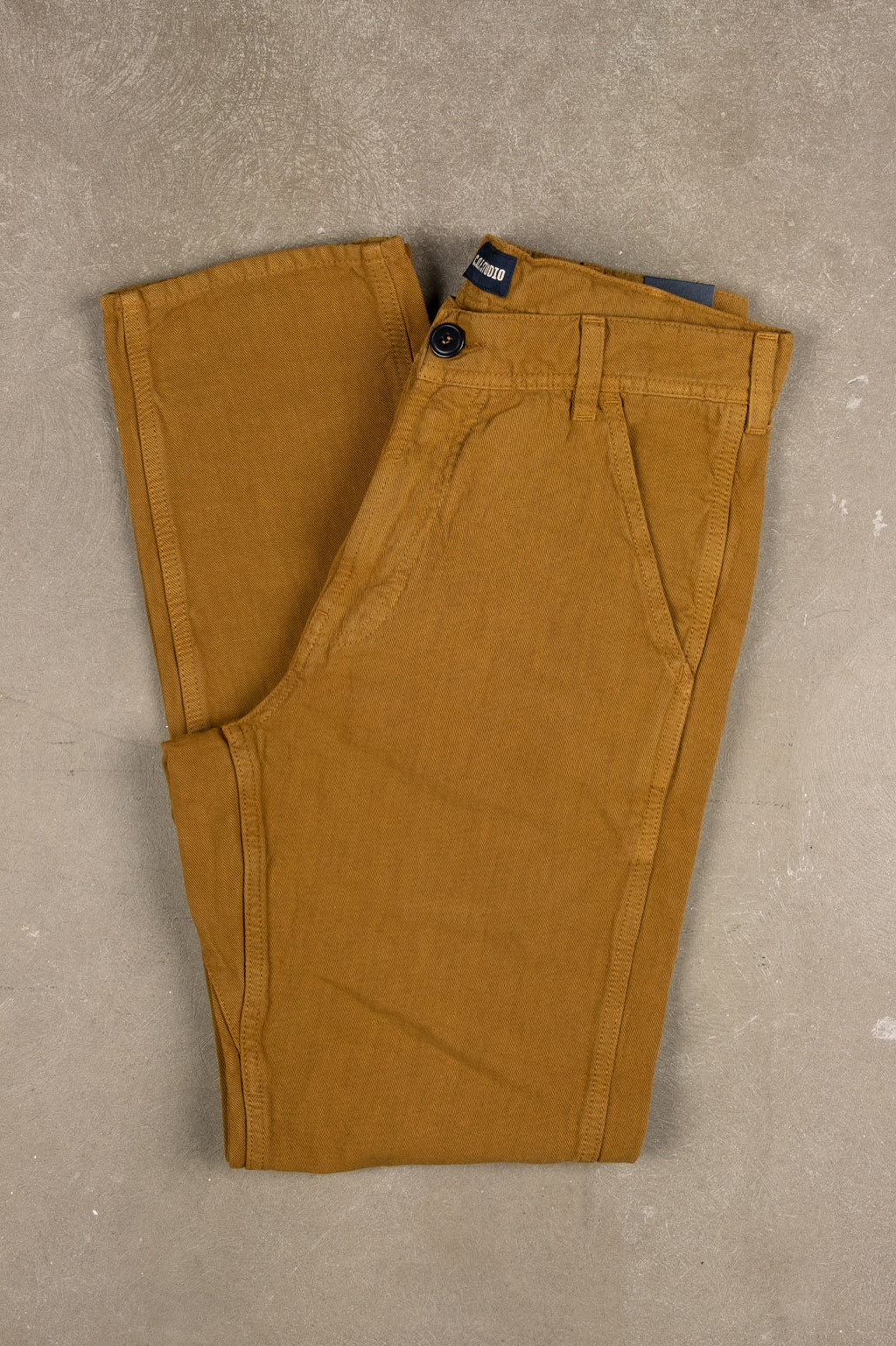 Labour Pant Cotton Linen Twill - Gold