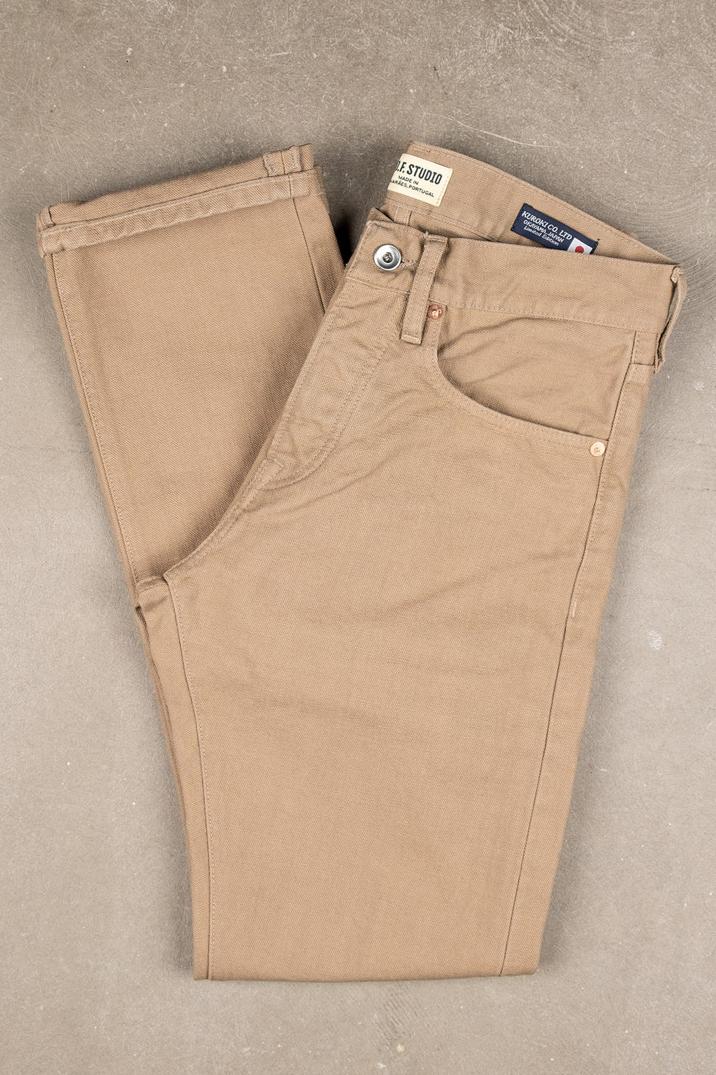 M2 16oz Kuroki Canvas - Khaki Beige