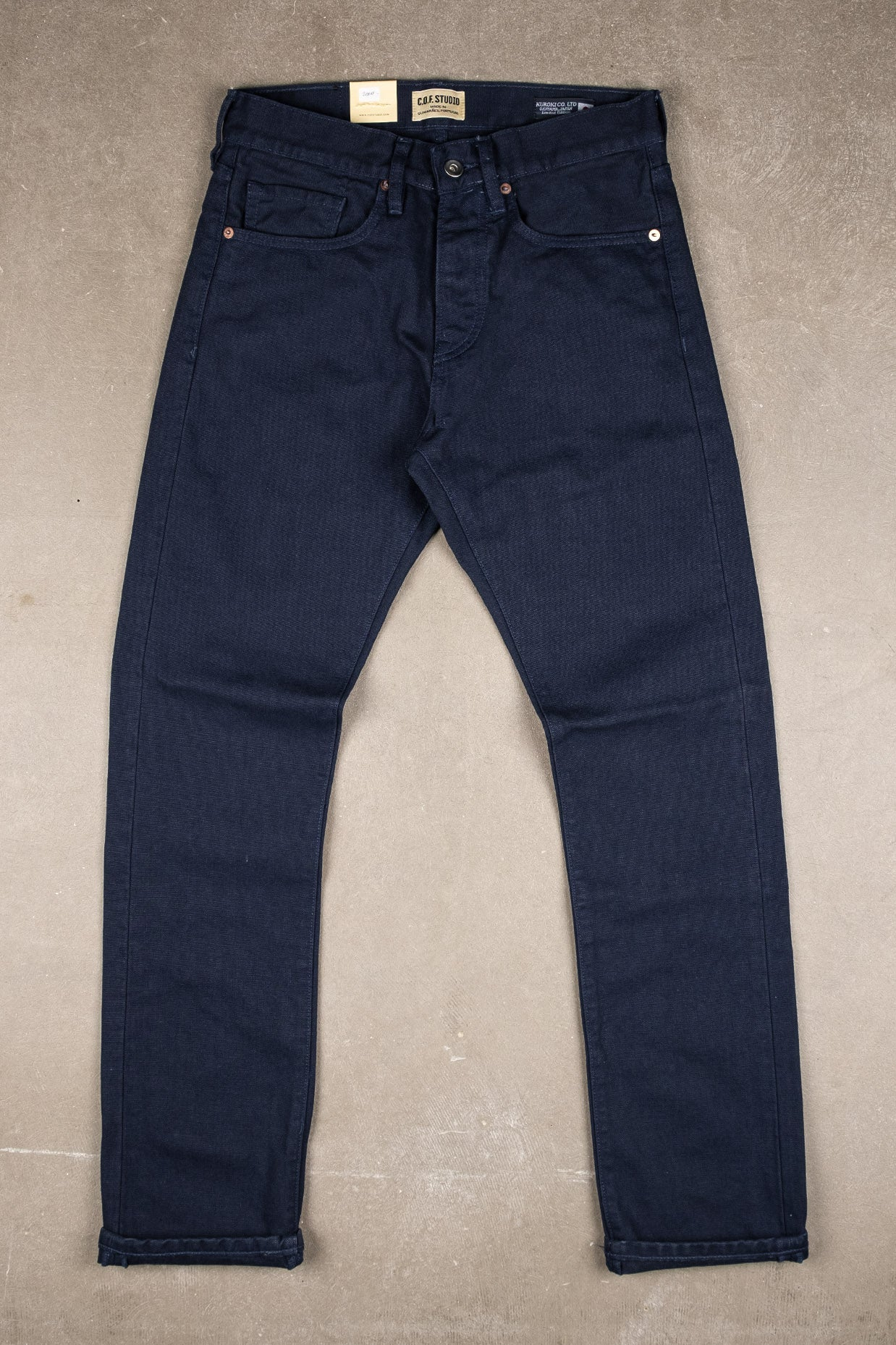 M2 13oz Kuroki Canvas - Navy
