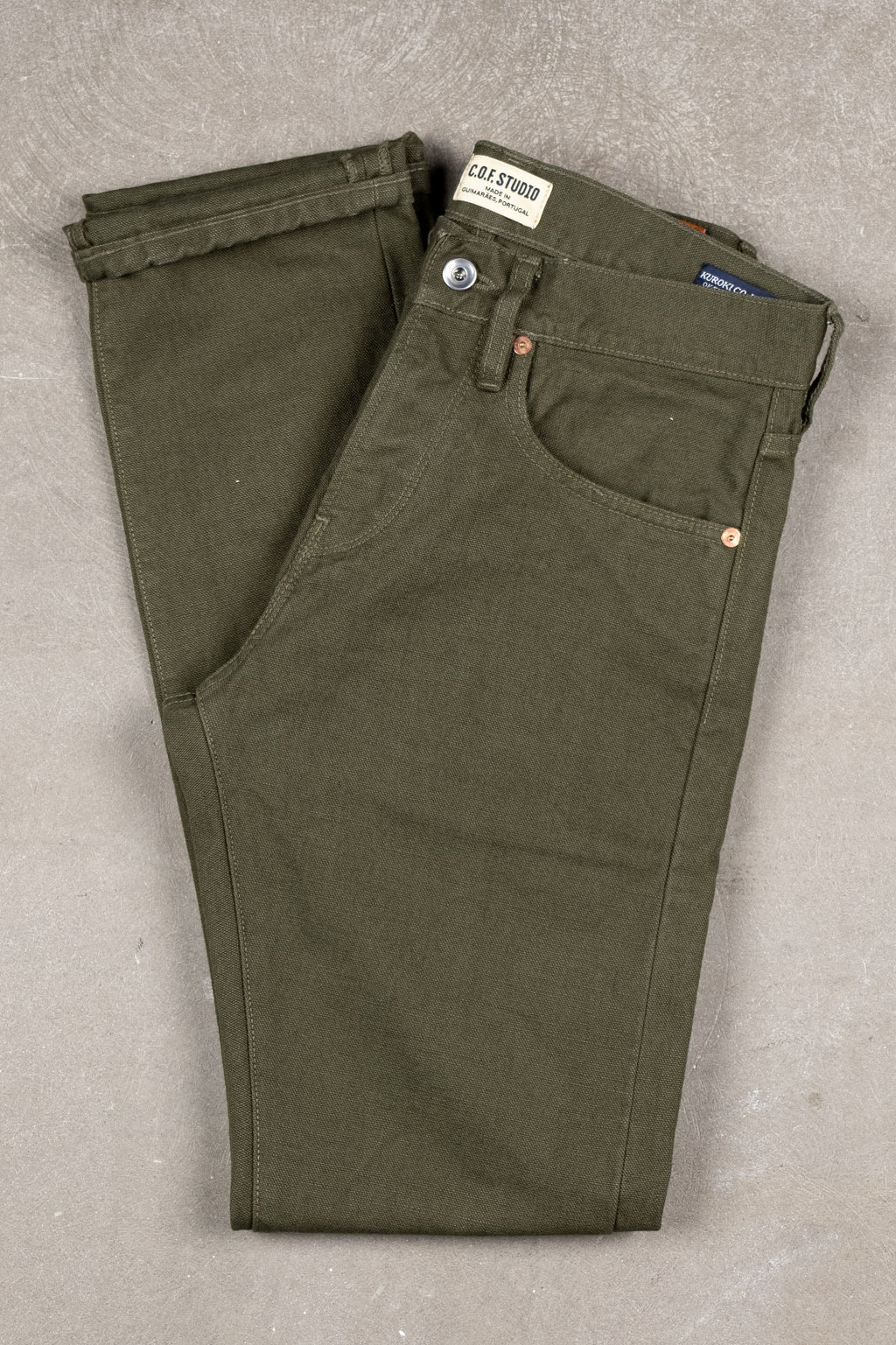 M2 Kuroki Canvas - Dark Green