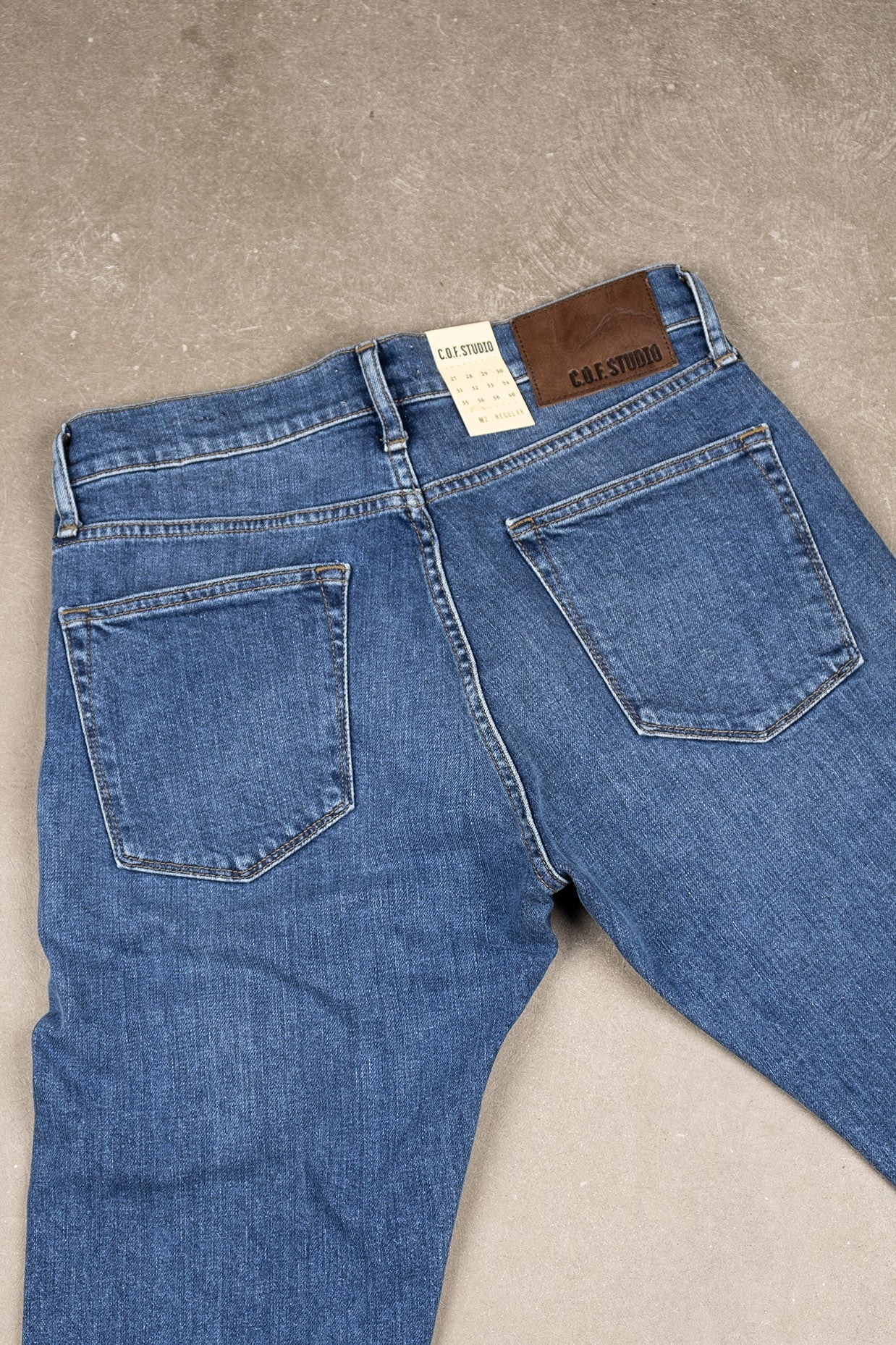 M2 Organic Indigo - Washed Blue