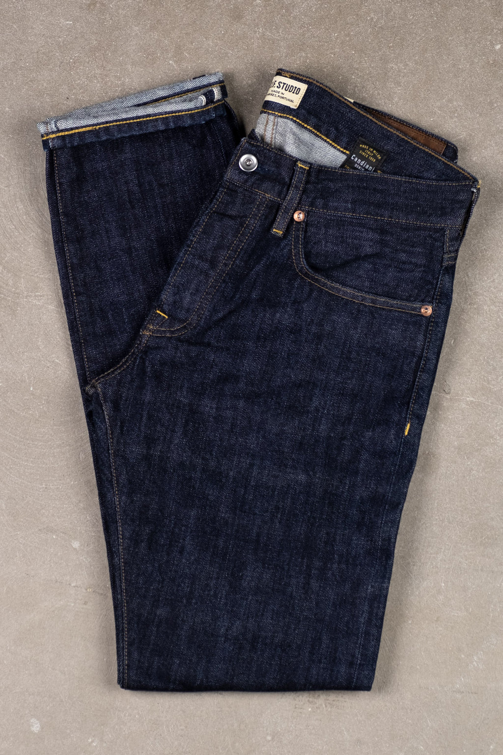 M3 13oz Indigo Selvedge - Rinsed