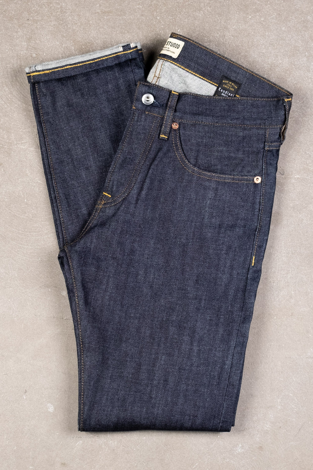 M3 13oz Indigo Selvedge - Unwashed
