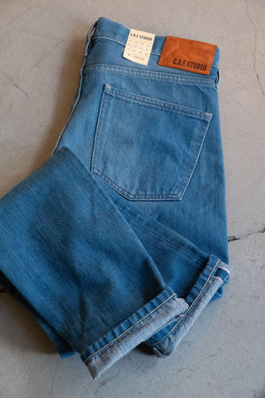 M7 Kuroki Marine Blue Selvedge - Authentic Blue