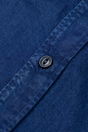 New Standard Shirt Indigo Twill - Rinsed