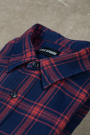 New Standard Shirt Alaska Check - Red