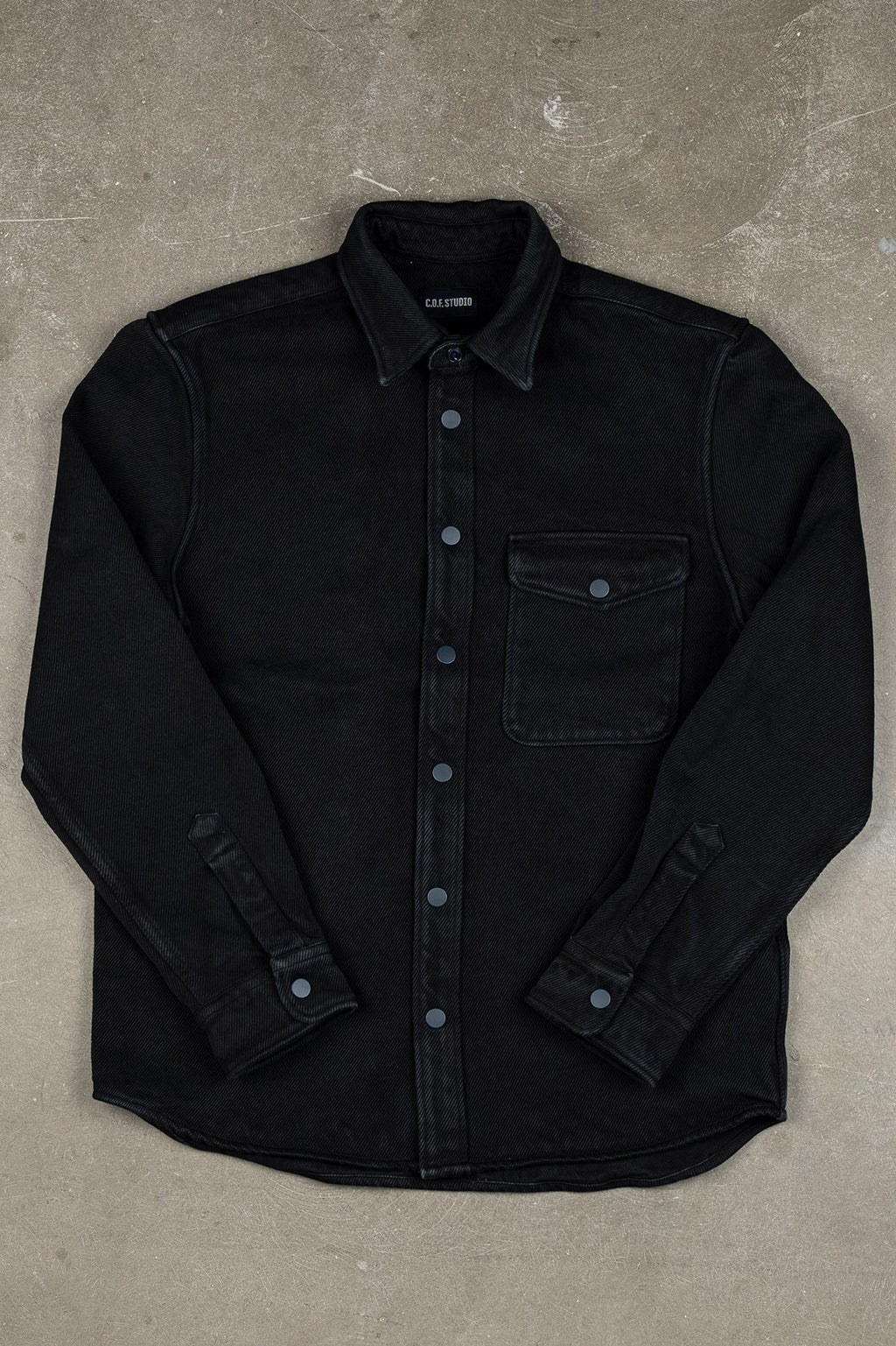 Overshirt Heavy Twill - Black