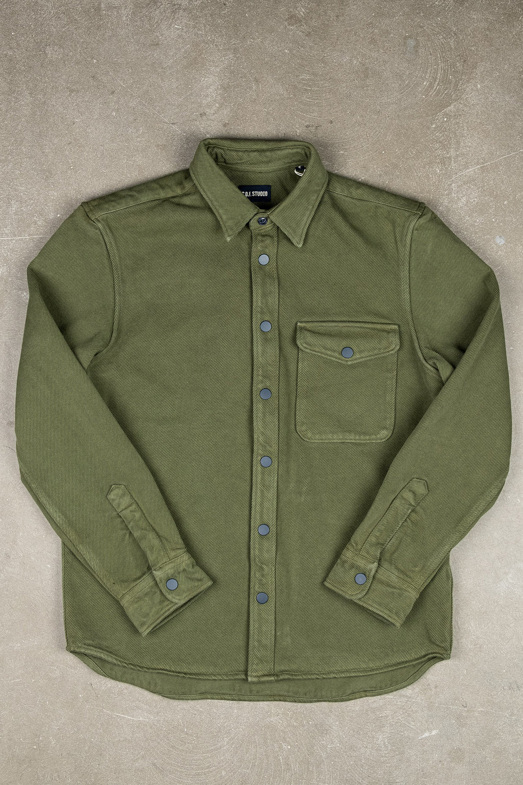 Overshirt Heavy Twill - Military