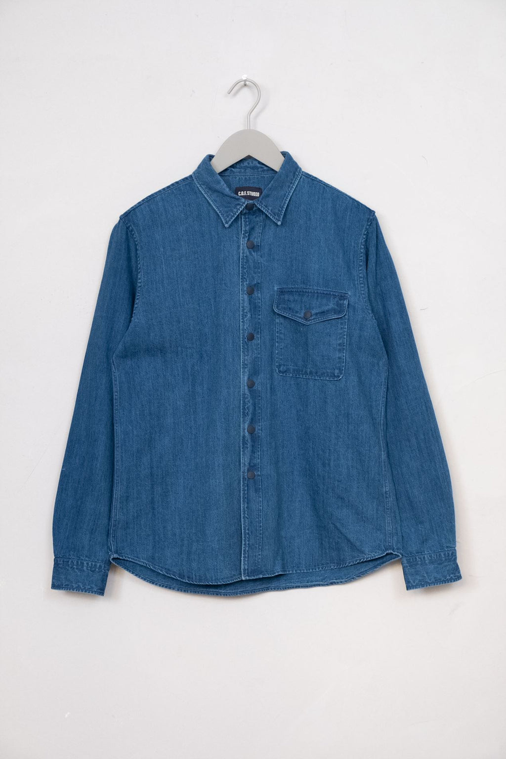 Overshirt Indigo Selvedge - Enzyme
