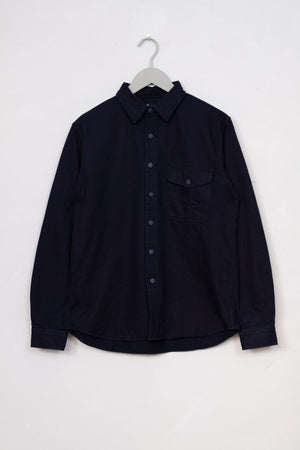 Overshirt Indigo Selvedge - Rinsed