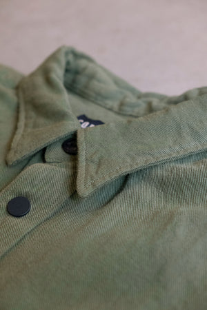 Overshirt Cotton Linen Twill - Military