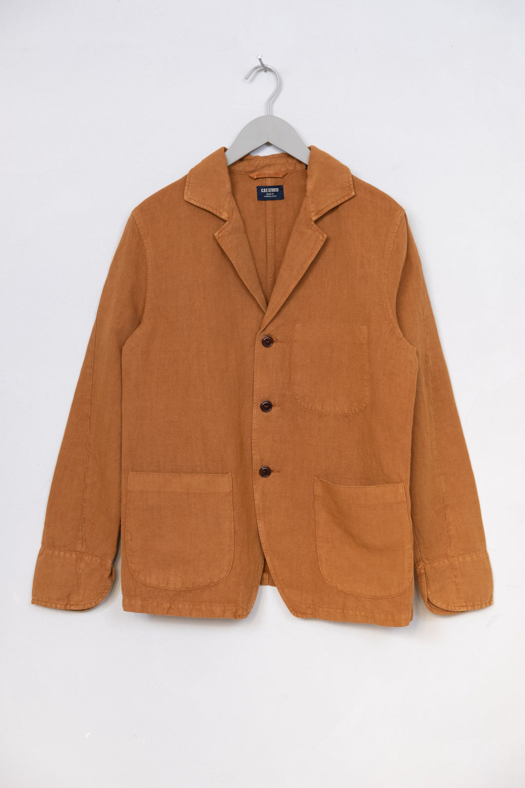 Painter Jacket Cotton Linen Twill - Duck