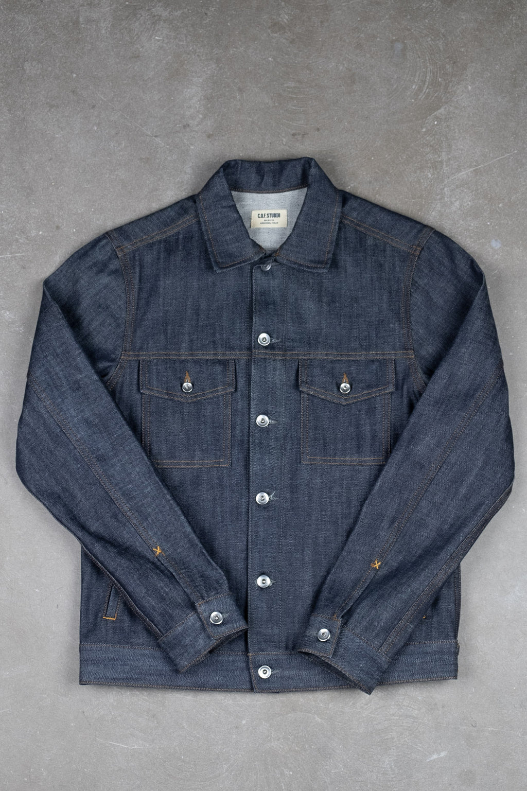 Standard Jacket 13oz Selvedge - Unwashed