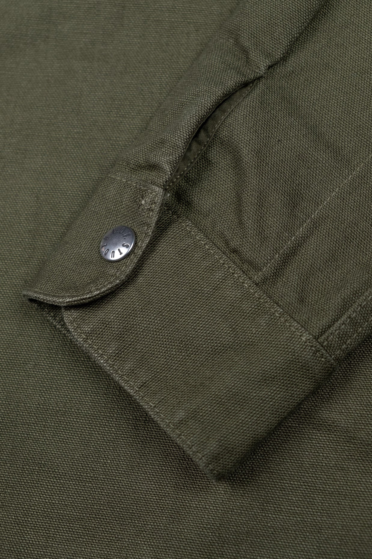 Trucker Shirt Kuroki Canvas - Dark Green
