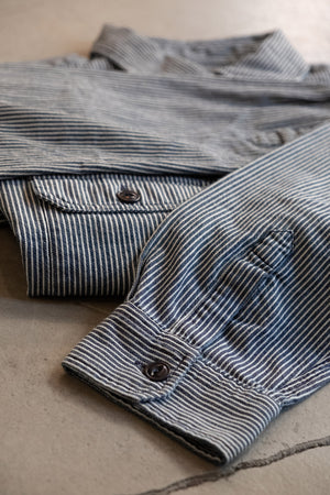 Two Pocket Shirt Hickory Stripe - Enzyme
