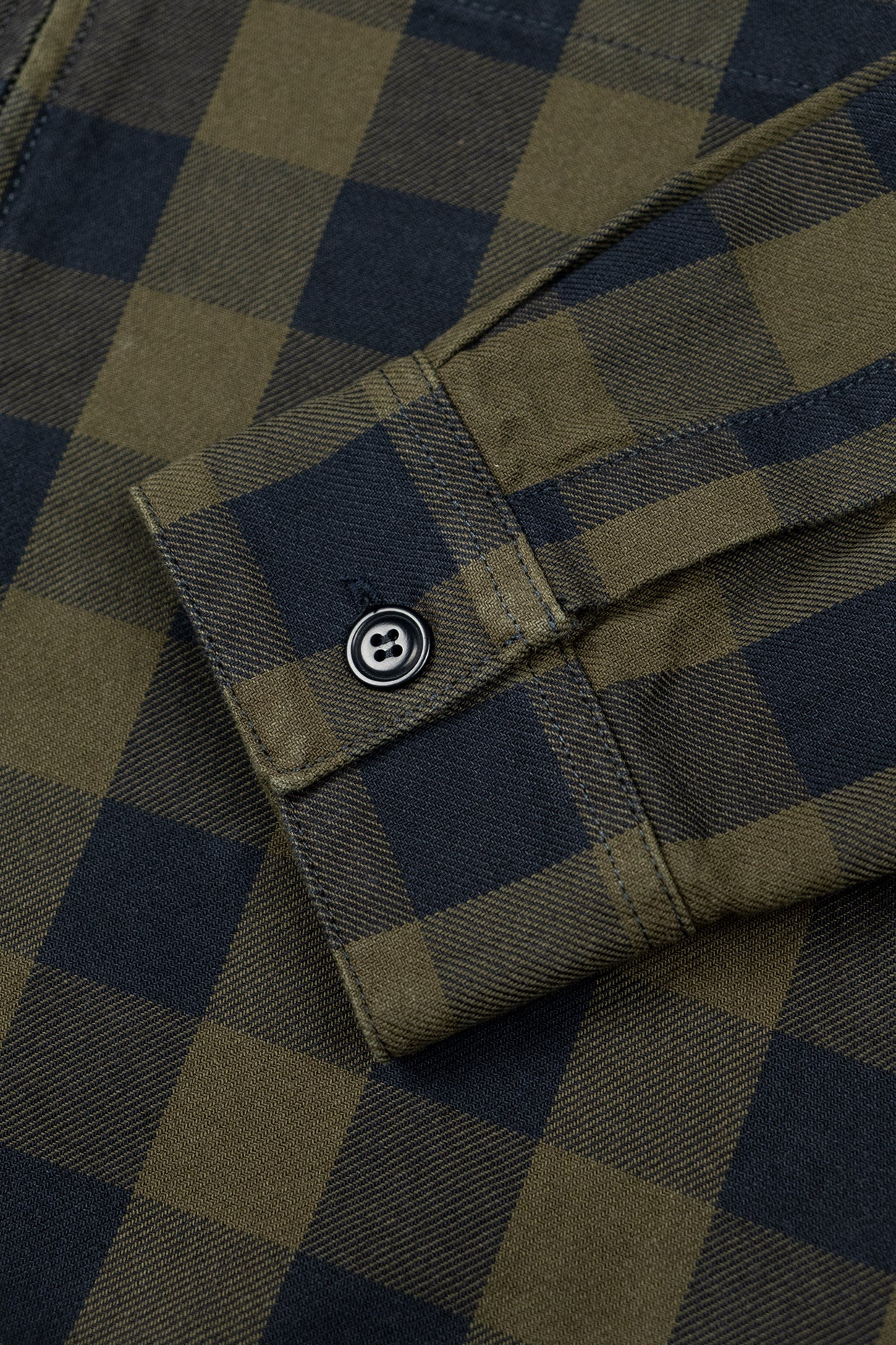 Zip-Jacket Gingham - Olive