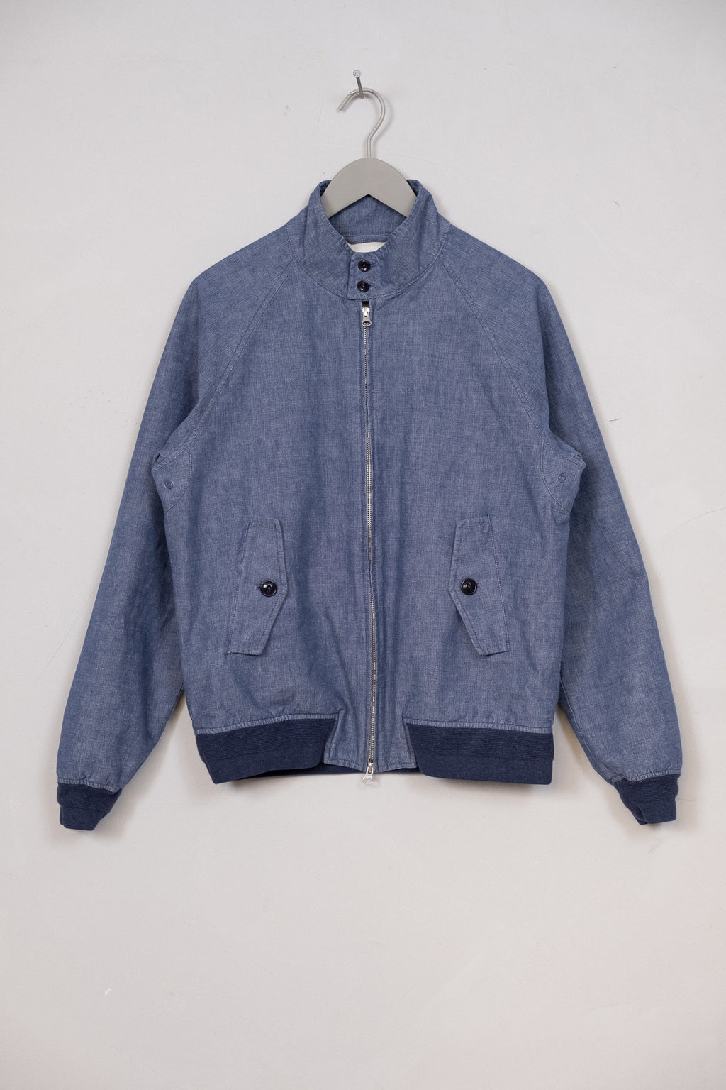 Harrington Jacket Indigo Selvedge Chambray - Enzyme