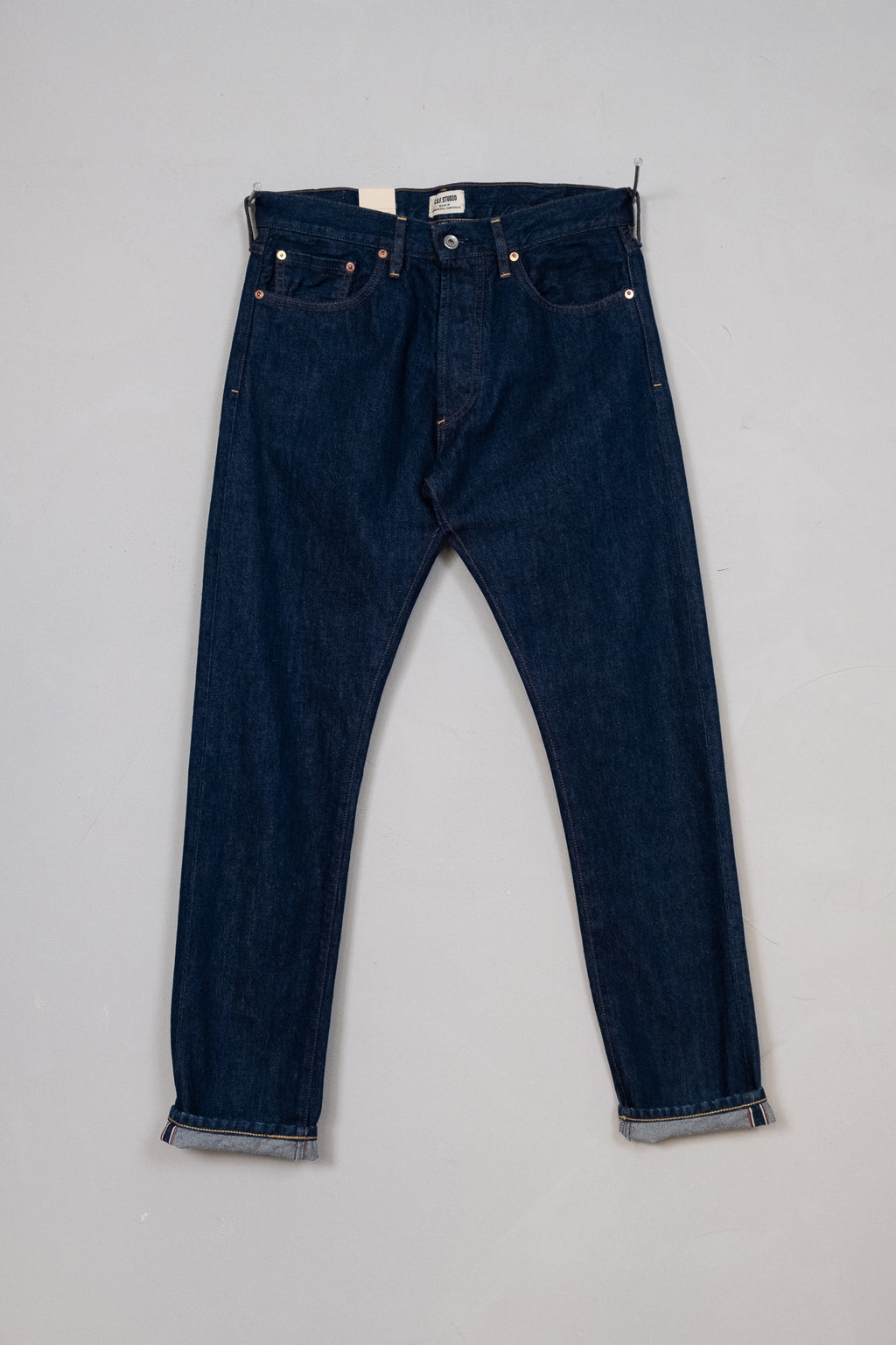 M7 13oz Indigo Selvedge - Rinsed