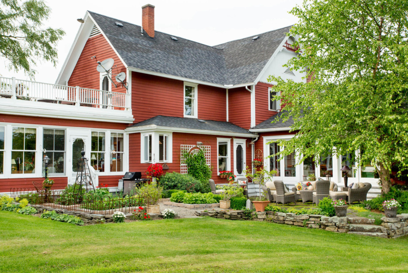 My Houzz: An Updated 1850s Farmhouse Gem in New York