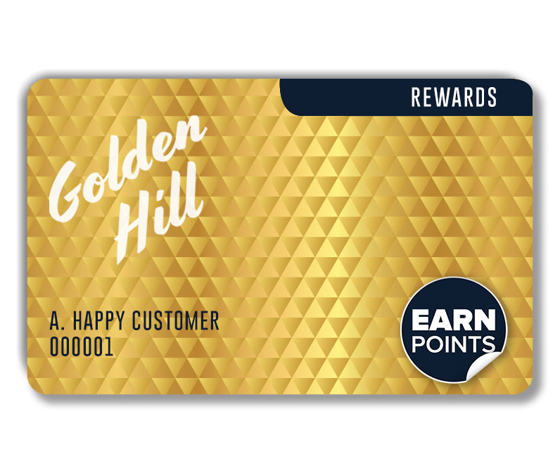 Golden Hill Studio Loyalty Rewards Program