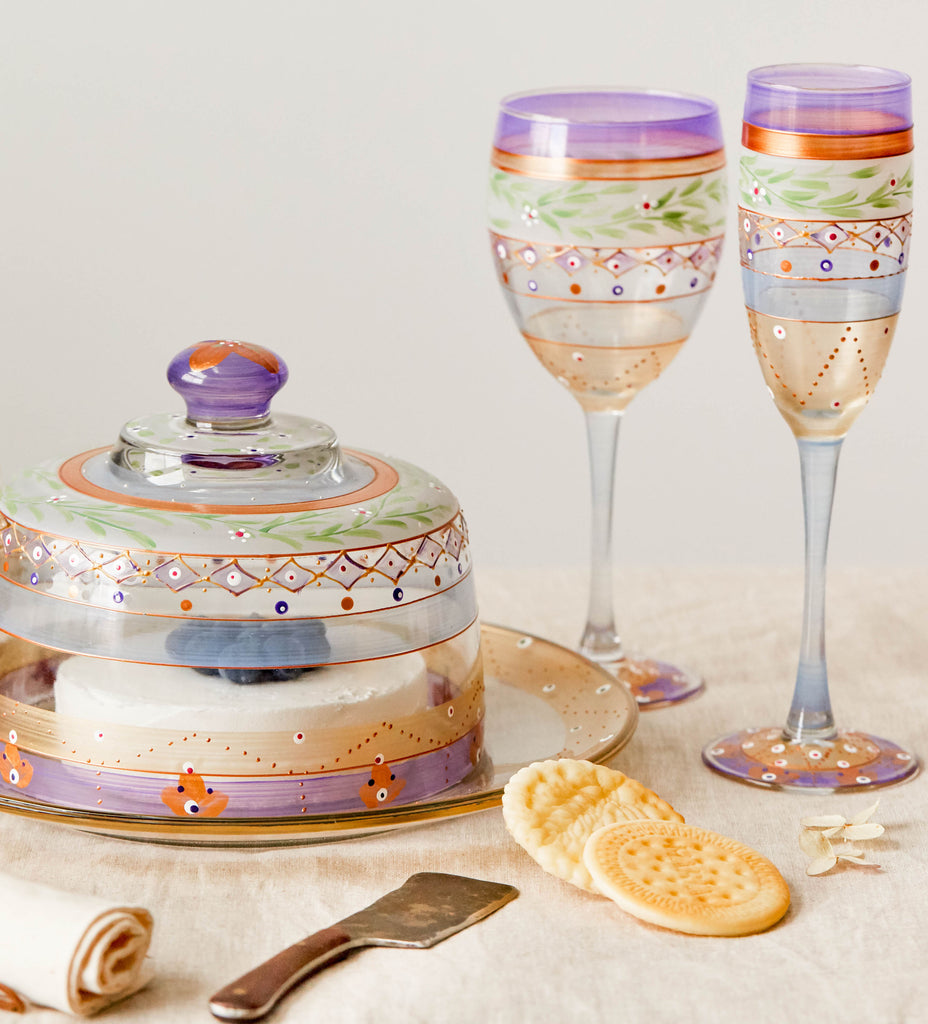 Moroccan Mosaic Lilac Collection