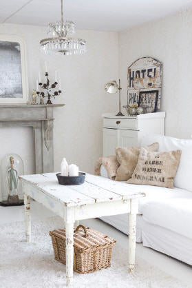 To Brighten Up Your Home With Some Winter Whites, Here Are Some Great Ideas: