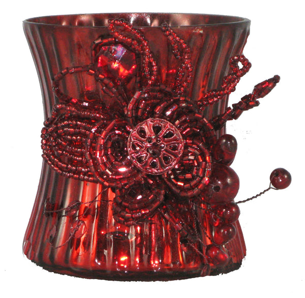 Votive Holder Cranberry