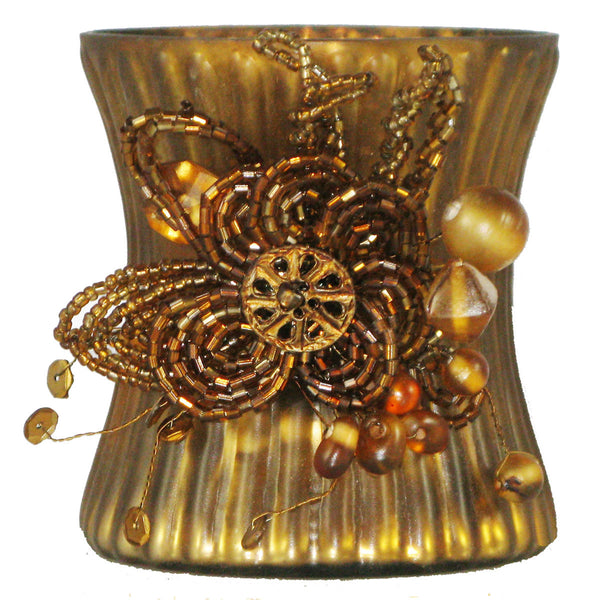 Votive Holder Amber