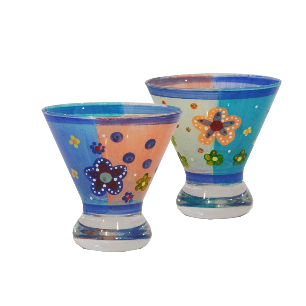 Cozumel Cosmos Set of 2 - Golden Hill Studio