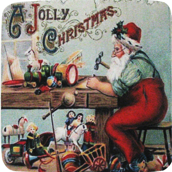 Jolly Workshop Coaster S/4 - Golden Hill Studio