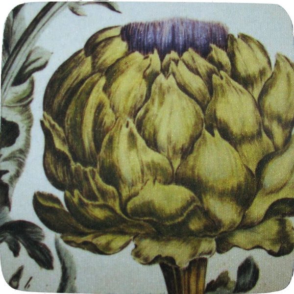 Artichoke Coaster S/4 - Golden Hill Studio
