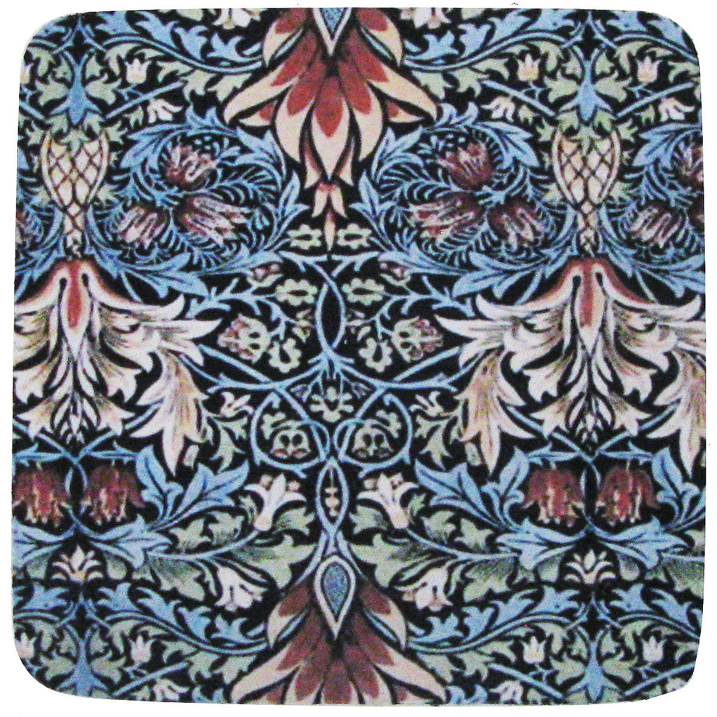 William Morris # 1 Coaster S/4 - Golden Hill Studio
