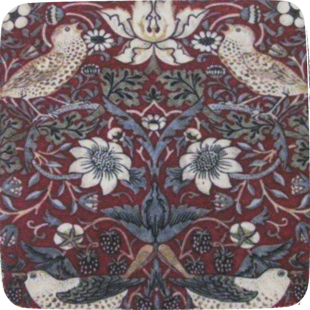 William Morris # 6 Coaster S/4 - Golden Hill Studio